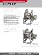 Aviation Series V-1-1/2 inch Reels - Spanish